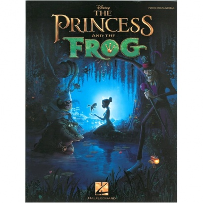 Hal Leonard - The Princess And The Frog Songbook für Piano, Gesang, Gitarre (englisch)