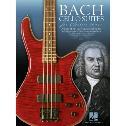 Hal Leonard - Bach Cello Suites For Electric Bass (englisch)