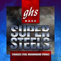 GHS 6L-STB Bass Super Steels Light Saitensatz für 6-saitigen E-Bass