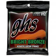 GHS BB30L Bright Bronze Light Saitensatz für Westerngitarre