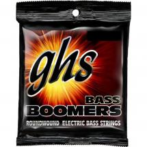 GHS ML3045X Bass Boomers Extra Long Scale Medium Light Saitensatz für E-Bass