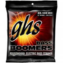 GHS M3045 Bass Boomers Medium Long Scale Saitensatz für E-Bass