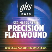 GHS M3050-5 Bass Precision Flats Medium Long Scale Plus Saitensatz f. E-Bass