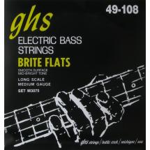GHS M3075 Bass Brite Flats Medium Long Scale Saitensatz f. E-Bass