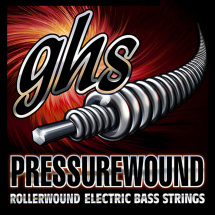 GHS M7200 Pressurewound Medium Saitensatz für E-Bass