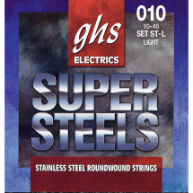 GHS ST-L Super Steels Light Saitensatz für E-Gitarre