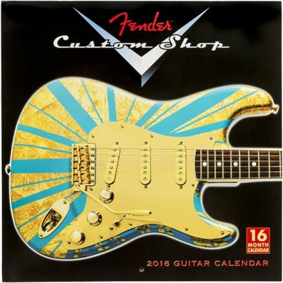 Fender Custom Shop calendar 2016