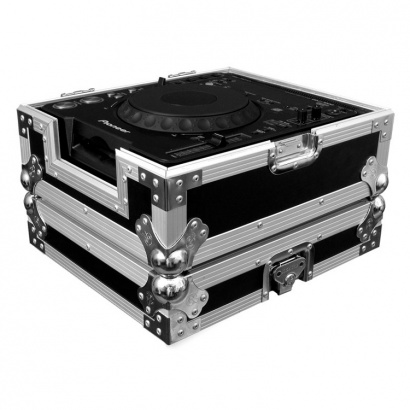 Road Ready RRCCDJ Flightcase mit Ventilator für große Table Toper