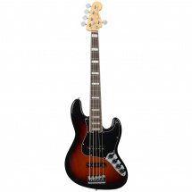 Fender American Elite Jazz Bass V 3-Tone Sunburst RW