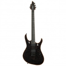 Jackson Chris Broderick Soloist HT6 Transparent Black EB