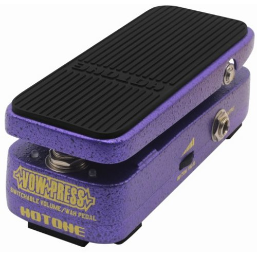 Hotone Vow Press switchable volume wah wah effects pedal