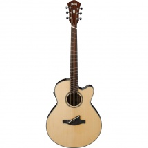 Ibanez AELFF10-NT Westerngitarre m. Tonabnehmer, Fanned Frets, natur