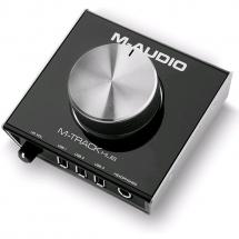 M-Audio M-Track Hub Monitoring Audio-Interface m. USB-Hub