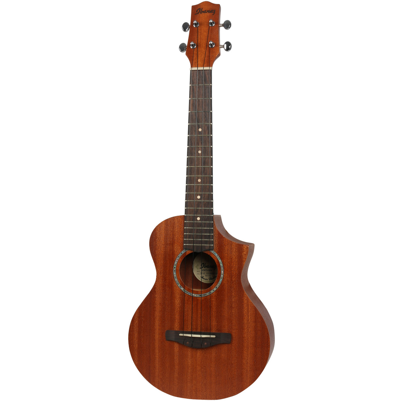 Ibanez UEWT5 OPN Open Pore Natural Tenor Ukulele