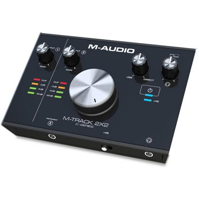 M-Audio M-Track 2x2  Audio-Interface (USB-C)