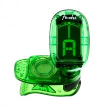Fender FT-1620 California Clip-On Tuner Green