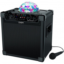 ION Party Rocker Plus Wireless Lautsprecher mit Lichtshow