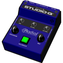 Radial Studio-Q Talkback Interface mit Mikrofon