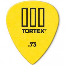 Dunlop Tortex TIII Plektrum, 0,73mm