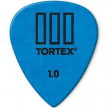 Dunlop Tortex TIII Plektrum, 1 mm