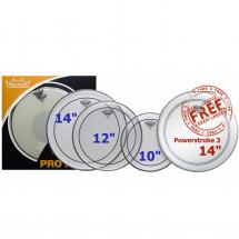 Remo PP-0310-PS Pinstripe ProPack Schlagfell-Set