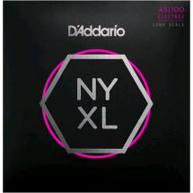 D'Addario NYXL45100 Regular Light Saitensatz für E-Bass