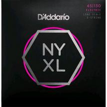 D'Addario NYXL45130 Regular Light Saitensatz für E-Bass