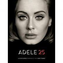 Wise Publications - Adele 25 Easy Piano