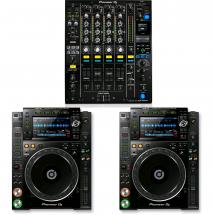 Pioneer DJ-Set DJM-900NXS2 Mixer + 2x CDJ-2000 NXS2 Player