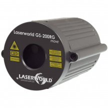 Laserworld GS-200RG Move Laser-Effekt, rot/grün, IP65