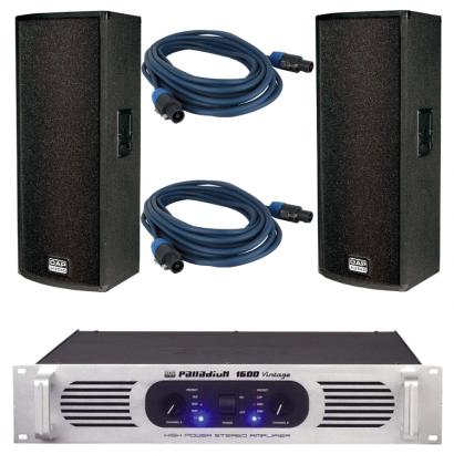 DAP MC-215 P-1600 Speakerset mit Kabeln