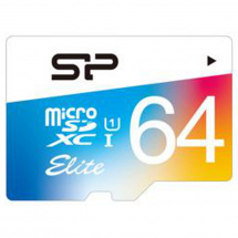 Silicon Power Elite UHS-1 64 GB + Adapter microSDXC-Karte