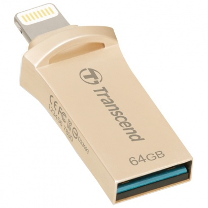 Transcend JetDrive Go 500 Gold 64GB USB 3.1 Stick für iPhone