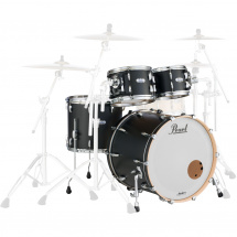 Pearl Masters Maple Complete Matte Caviar Black 4-teiliges Set