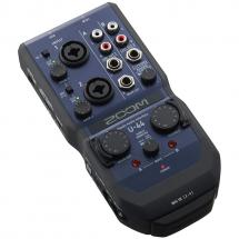 Zoom U-44 portables Audio-Interface f. Mac, Windows & iOS