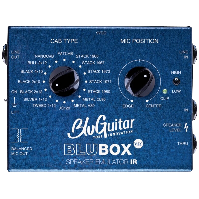 BluGuitar BluBOX Impulse Response Speaker Simulation