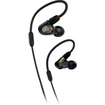 Audio Technica ATH-E50 In-Ear Monitor, schwarz