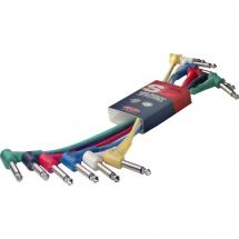 Stagg SPC010L E Patchkabel, 6er-Pack