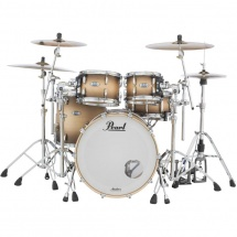 Pearl MCT924XEFP Masters Maple 4-teiliger Kesselsatz, Satin Natural