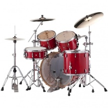 Pearl Studio Session Classic 4-teiliger Kesselsatz, Sequoia Red