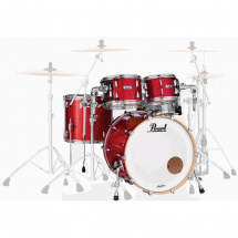 Pearl MCT924XEFP Masters Maple 4-teiliger Kesselsatz, Inferno Red