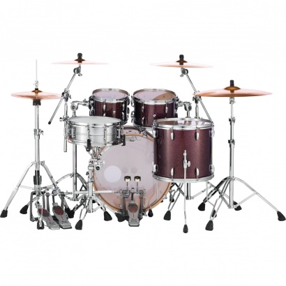 Pearl MCT924XEFP Masters Maple 4-teiliger Kesselsatz, Burnished Bronz