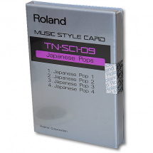 Roland Music Style Card TN-SC1-09 Japanese Pops