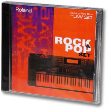 Roland Backing Style Data SD-JW50-02 Rock & Pop Set für JW-50