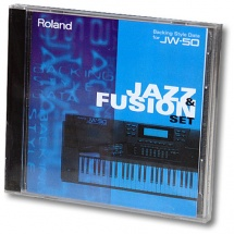 Roland Backing Style Data SD-JW50-03 Jazz & Fusion Set für JW-50
