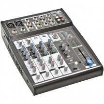 Stagg SMIX 2MS2 CD 4-Kanal Mischpult