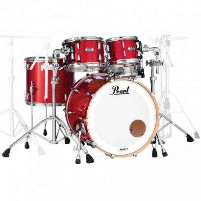 Pearl MCT943XEP Masters Maple 3-teiliger Kesselsatz, Inferno Red