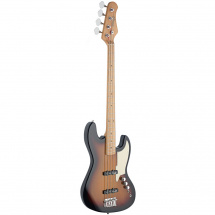 Stagg SBJ-50 SB Custom J E-Bass, Sunburst