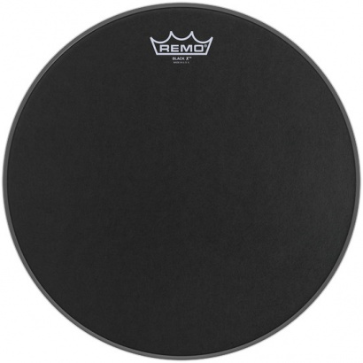 Remo BX-0814-10 Emperor X Black Suede 14 Zoll Snaredrumfell, Dot