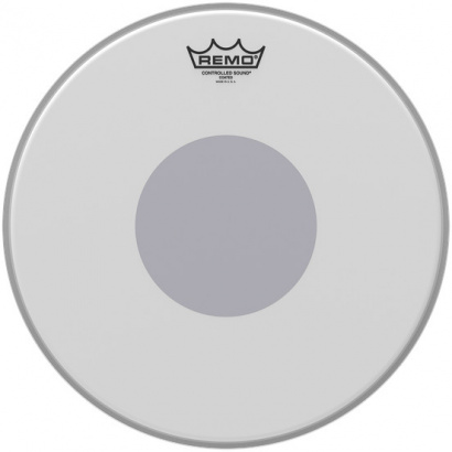 Remo CS-0110-10 Controlled Sound Coated 10 Zoll Snaredrumfell, Dot